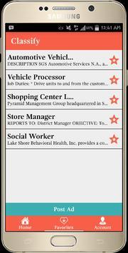 Classify apk screenshot