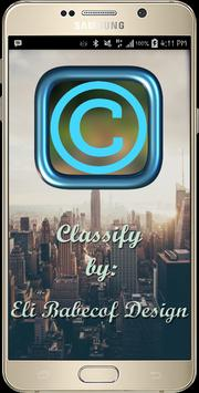 Classify poster