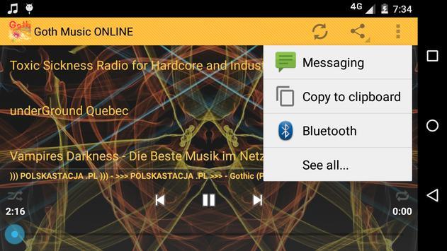 Goth Music ONLINE screenshot 5