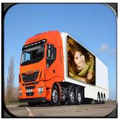 Vehicle Hoarding Photo Frame icon