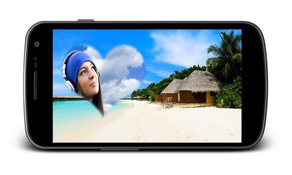 Beach Holiday Photo Frames screenshot 1