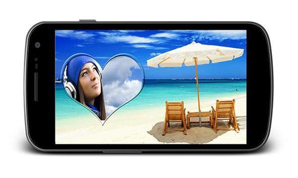 Beach Holiday Photo Frames screenshot 2