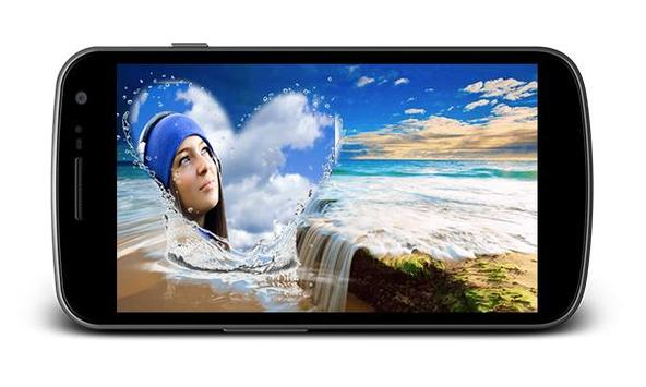 Beach Holiday Photo Frames screenshot 3