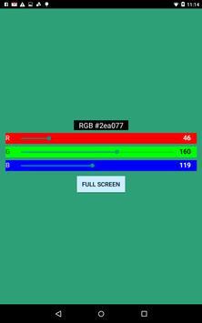 RGB Screen poster