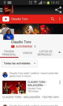 CLAUDIO TORO 스크린샷 2