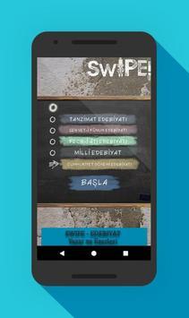 Swipe - Edebiyat Yazar ve Eserleri screenshot 2