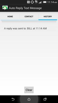 Auto Reply Text Message apk screenshot