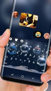 Clean White Christmas Keyboard screenshot 2