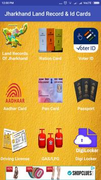 Jharkhand Land Records & Id Cards poster
