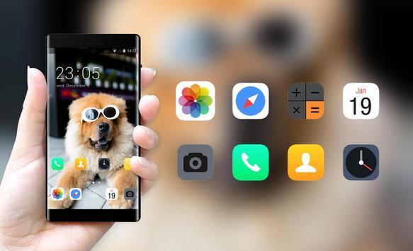 cute puppy cool pets theme screenshot 3