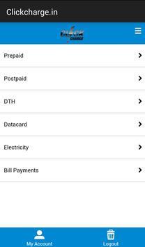 Clickcharge apk screenshot