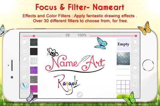 Name Art - Focus N Filter screenshot 4