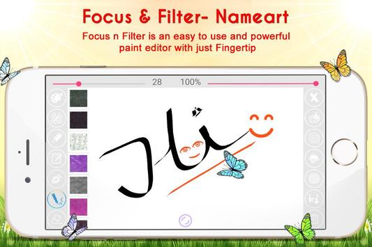 Name Art - Focus N Filter screenshot 6