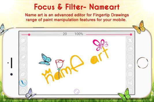 Name Art - Focus N Filter screenshot 1