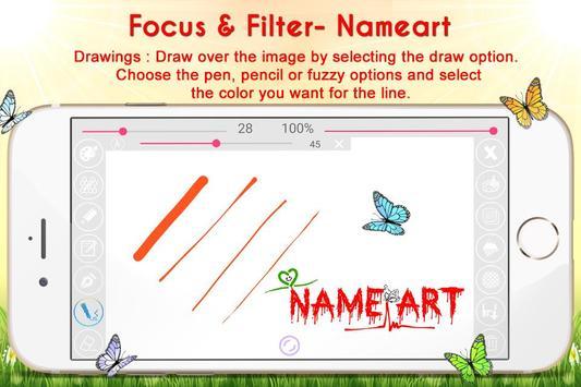 Name Art - Focus N Filter screenshot 3