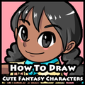 How to draw cute fantasy characters