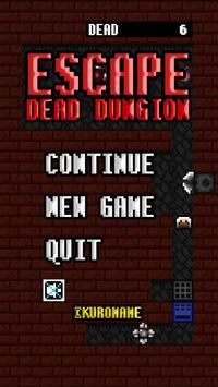 ESCAPE DEAD DUNGION poster