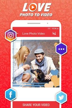 Love Slideshow Maker apk screenshot