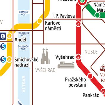 Prague Metro Tram Map apk screenshot
