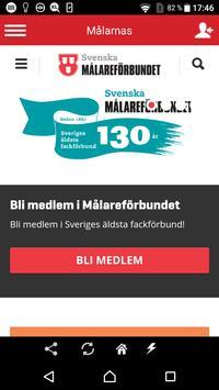 Svenska Målareförbundet poster