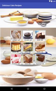 Delicious Cake Recipe apk screenshot