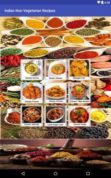 Indian Non Vegetarian Recipes apk screenshot