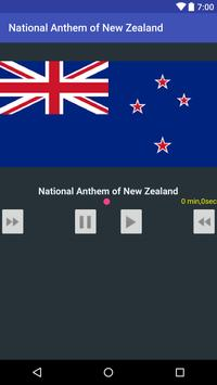 National Anthem of New Zealand poster