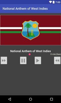 National Anthem of West Indies poster