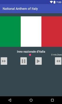 National Anthem of Italy apk screenshot