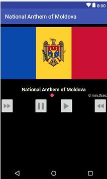 National Anthem of Moldova poster
