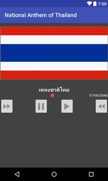 National Anthem of Thailand poster