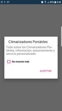Climatizador Portátil screenshot 1