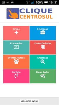 Clique CentroSul poster