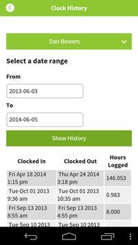 clock.in apk screenshot