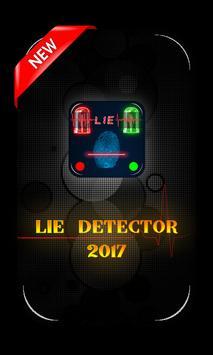 Finger Lie Detector prank App poster
