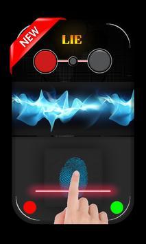 Finger Lie Detector prank App apk screenshot