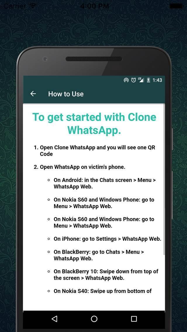 whatsapp mod iphone clone apk