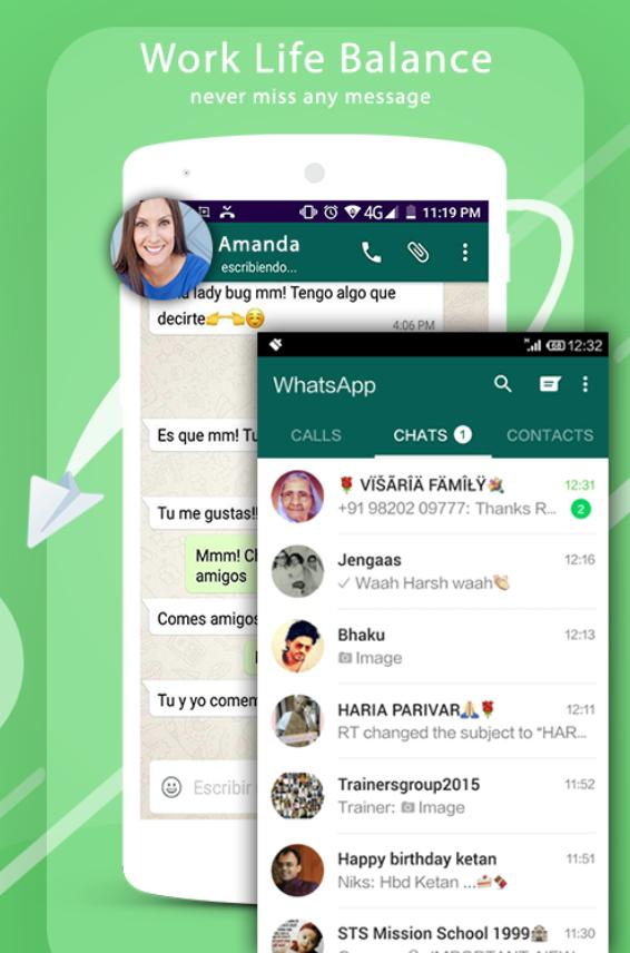 Clone app& Multicompte for WhatsApp-Multi chat for Android