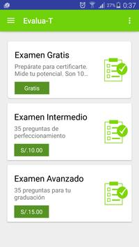 Evalua-T Scrum apk screenshot