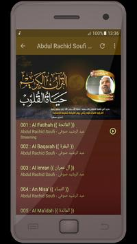 Abdul Rachid Soufi - holy quran screenshot 2