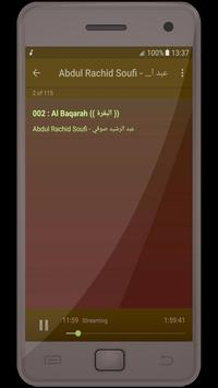 Abdul Rachid Soufi - holy quran apk screenshot