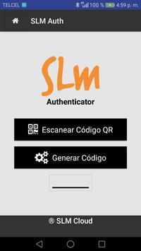SLM Authenticator poster
