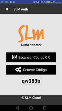 SLM Authenticator screenshot 2