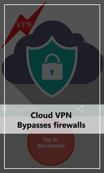 Free فلاش VPN Cloud proxy tips apk screenshot