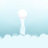 cloudy ball icon