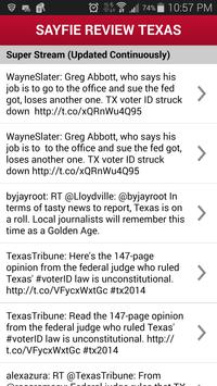 Sayfie Review Texas poster