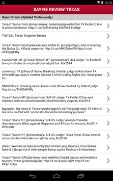 Sayfie Review Texas apk screenshot
