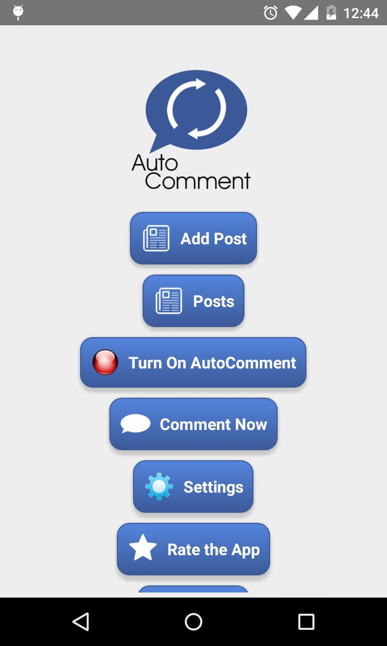 Auto Comment for Android - APK Download