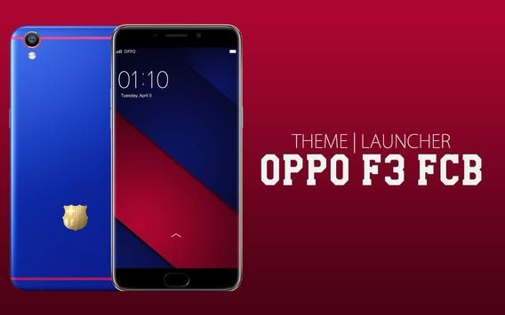 Theme for Oppo F3 FCB poster