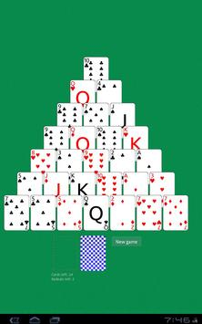 Solitaire Pyramid HD poster